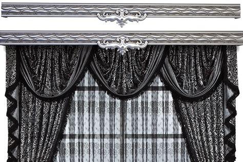 curtain rod cover fabric elegant curtain rod covers eva series