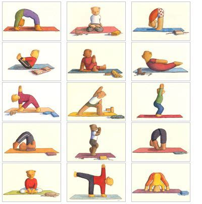 printable children s yoga cards 42 best yoga for kids images on pinterest toddler yoga