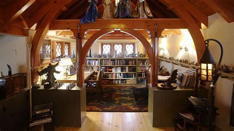 rich builds personal and expensive hobbit house