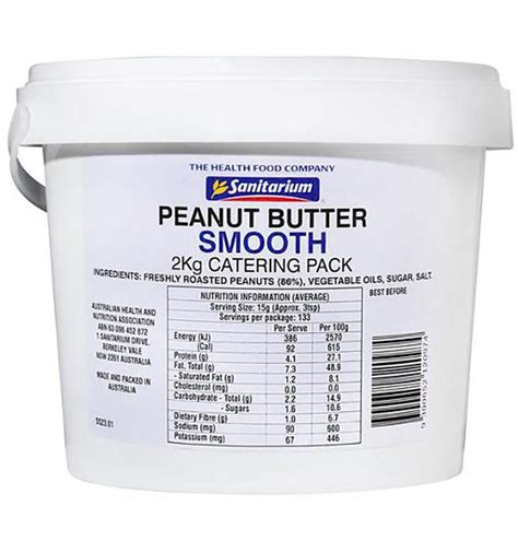 Sanitarium Smooth Peanut Butter 500gr sanitarium health food company peanut butter smooth 2kg delights