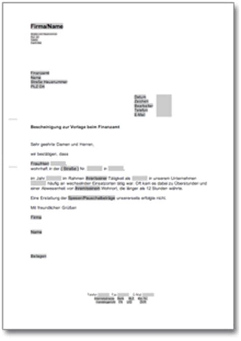 Vorlage Antrag Finanzamt Bescheinigung Des Arbeitgebers F 252 R Das Finanzamt At Musterbrief