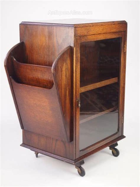small vintage oak bookcase display cabinet antiques atlas