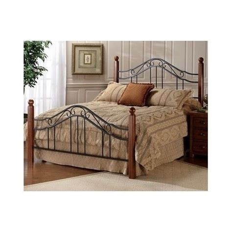 wood and wrought iron bedroom sets king size poster bed wood sturdy wrought iron bedroom