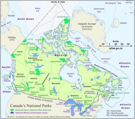 canadian national parks map photoscanada gallery canada national parks photos