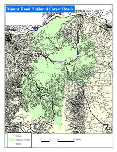 forest service maps oregon oregon map gallery oregon