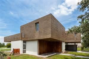 289 Sqm Modern Concrete House Design With Unique Structure Modern Concrete Block House Plans