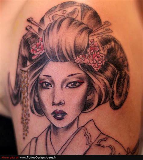 geisha tattoo designs meaning tatto design of geisha tattoos tattoodesignsideas tattoomagz