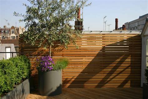 Dachterrasse Sichtschutz by Top Ideen F 252 R Coole Dachterrasse Designs Sch 246 Ne