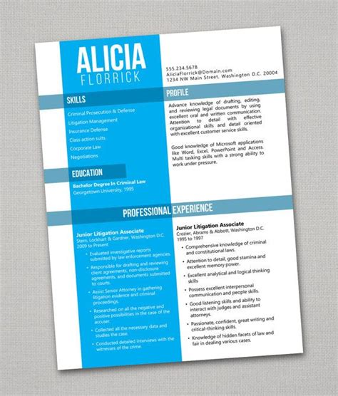 Resume 6 Second Test by 16 Best Creative Awesome Resumes Images On