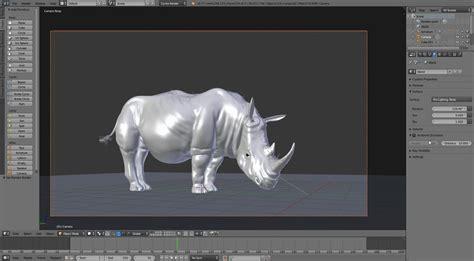 Rhinoceros Software 3d Modeling 1 rhino modeling sculpting texturing rigging in blender