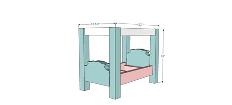 doll bed plans attempting aloha plans are up on ana white s site for the