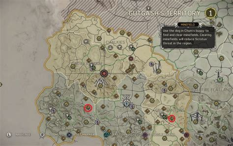 mad world map mad max project location rewards in gutash s territory
