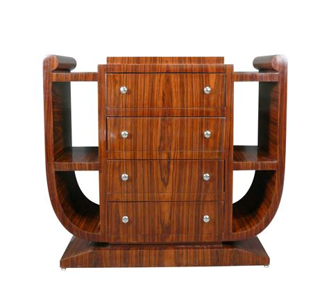 Commode Etagere commode 233 tag 232 res d 233 co 4 tiroirs en palissandre