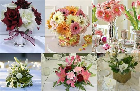 small floral centerpieces flowers dinner decor table decortion small floral