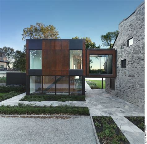 Viewing A Thread New House home meets contemporary architecture bord du lac