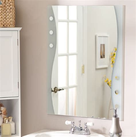 frameless mirror for bathroom frameless bathroom mirror home interiors