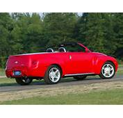 2003 Chevrolet SSR Pickup Convertible  Red Flat Running Boards