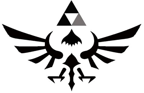 zelda hyrule crest tattoo by hayzer7 on deviantart