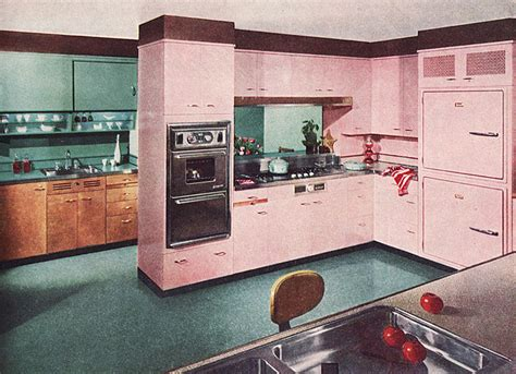 60s kitchen 60s pink kitchen vintage interiors pinterest 60s