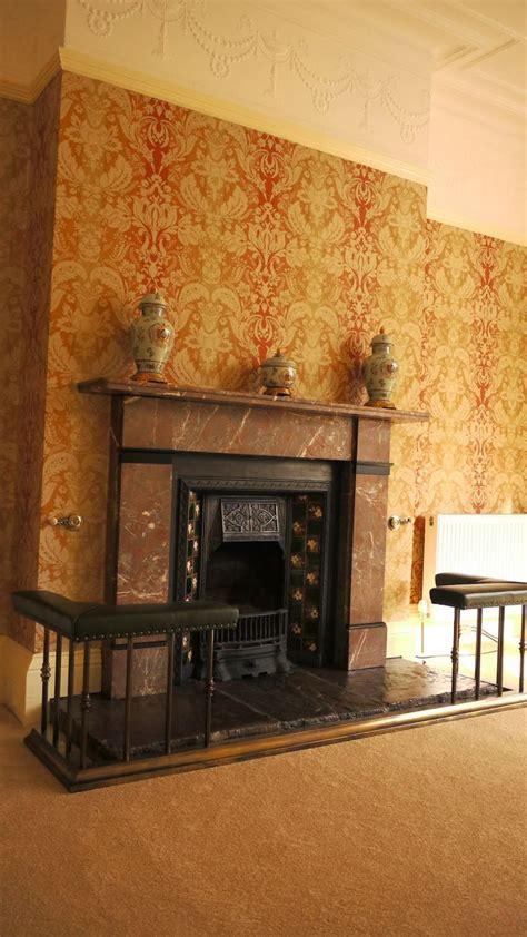 Wearholme   Marbled fire place Edwardian/Victorian