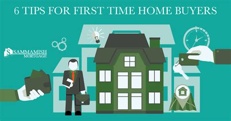 first time buyer house loan 6 tips for first time home buyers seattle bellevue mortgage company