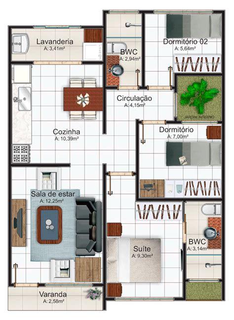plantas de casa 5 modelos de plantas de casas su 237 te e 225 rea total at 233