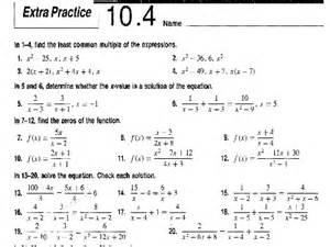 solving radical equations worksheet answer key