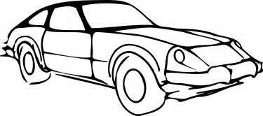 clipart black and white car www pixshark images