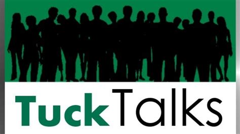 Tuck Mba Expenses by Tuck School Of Business Tucktalks Many Students Many