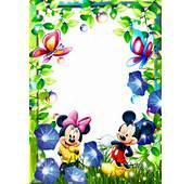 Etiquetas Marcos Para Fotos De Mickey  Infantiles