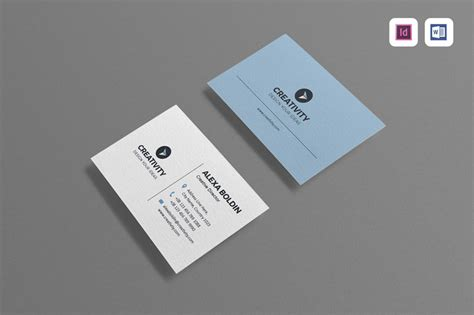 modern minimal business card indesign template 19 new indesign templates creatives must in their arsenal
