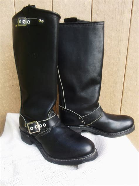 engineer style motorcycle boots biltrite engineer style bike boots womens motorcycle riding