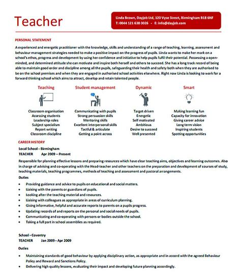 docs templates for teachers teachers resume format