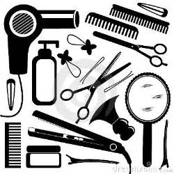 hairdressing equipment royalty free stock image image
