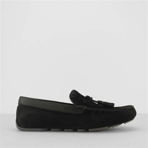 ugg loafer slippers ugg marris mens suede leather loafer slippers black house