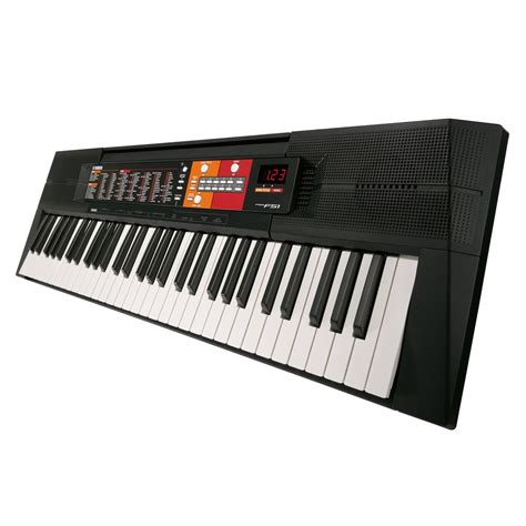 Keyboard Yamaha Yamaha Psr F51 Portable Keyboard At Gear4music