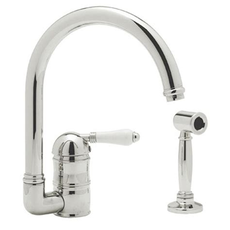 country kitchen faucet rohl a3606lpwsstn 2 at faucets n fixtures decorative plumbing showroom traditional deck mount
