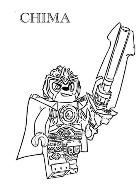 lego chima free colouring pages