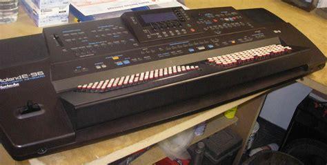 Keyboard Roland E96 Baru roland e96 boutons image 56980 audiofanzine