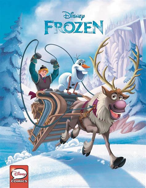 disney olaf s frozen adventure cinestory comic books a frozen 2017 comics annual in september from joe books