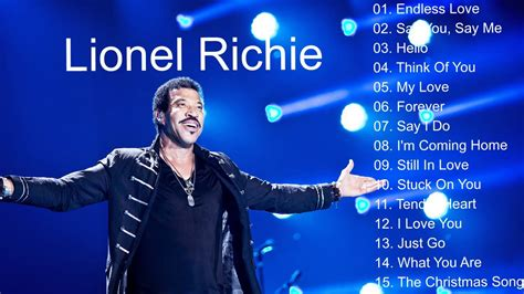 Lionel Richie Calls Himself The Greatest by Lionel Richie Greatest Hits Best Of Lionel Richie Songs