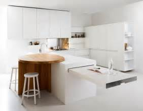 Kitchen Cabinets Small Spaces Thoughtful Minimalist White Kitchen For Small Spaces