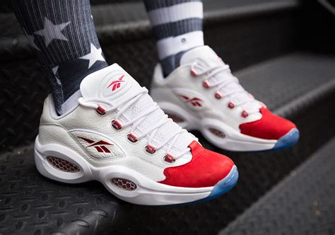question sneakers the reebok question low s og white colorway launches