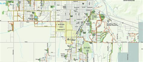 bozeman trail map trail map is live gallatin valley land trust