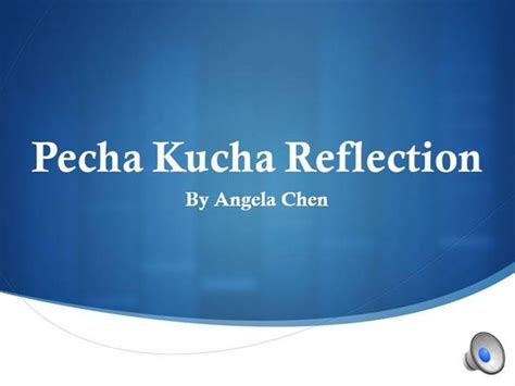 pecha kucha template powerpoint pecha kucha presentation authorstream