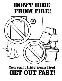 fire safety coloring books fire prevention colouring pages