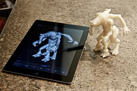 Make 3d Creatures From Your Printer by Autodesk 123d Creature 3d Character Design App From Your