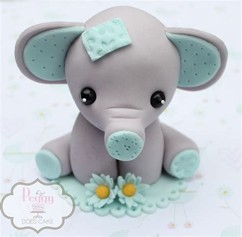 How To Make Baby Shower by Elephant Baby Shower Cake Topper Creative Ideas