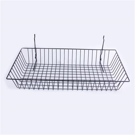 Xtreme Garage Shelving Directions Xtreme Garage 174 Slatwall Accessory Black 24 Quot Wire Basket At