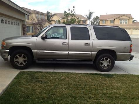 auto air conditioning service 2003 gmc yukon xl 1500 electronic valve timing find used 2003 gmc yukon xl 1500 slt sport utility 4 door 5 3l in corona california united states